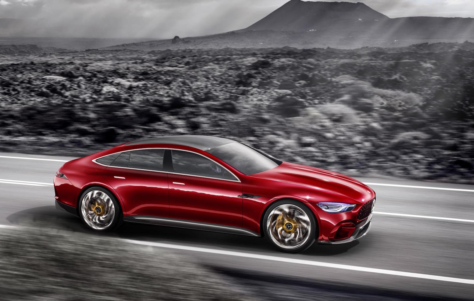 Mercedes Amg Gt Concept Revealed Previews Upcoming Four