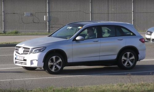 Mercedes-Benz GLC prototype spotted, F-Cell hydrogen model? (video)
