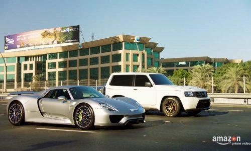 Video: Nissan Patrol with GT-R power smokes Porsche 918