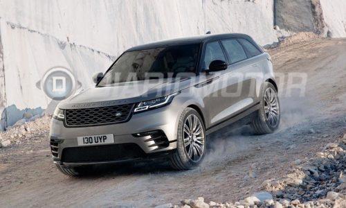 Range Rover Velar revealed via leaked images