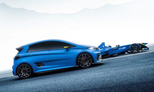 Renault ZOE e-sport concept does 0-100km/h in 3.2sec