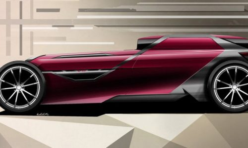 Sbarro Mojave modern hotrod concept heading for Geneva