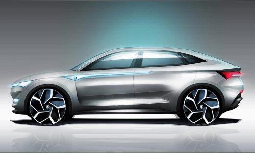 Skoda Vision E concept previews autonomous EV tech