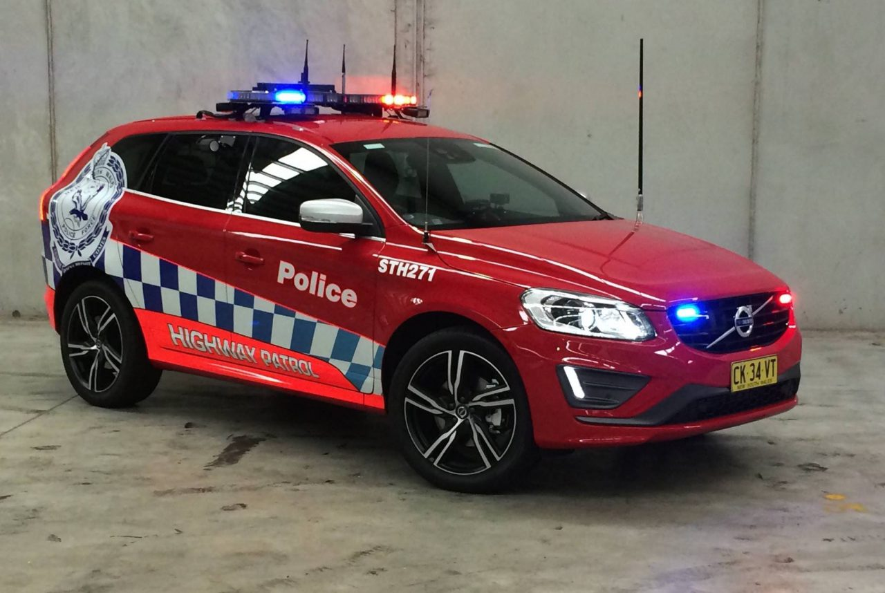 7 Volvo XC60 highway patrol cars join NSW police fleet ...