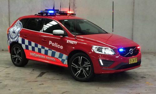 7 Volvo XC60 highway patrol cars join NSW police fleet