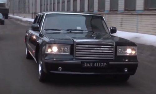 Vladimir Putin cancels order for ZIL 4112P, getting 'Nami' instead (video)