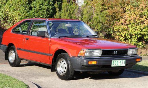 For Sale: Strangely appealing original 1982 Honda Accord