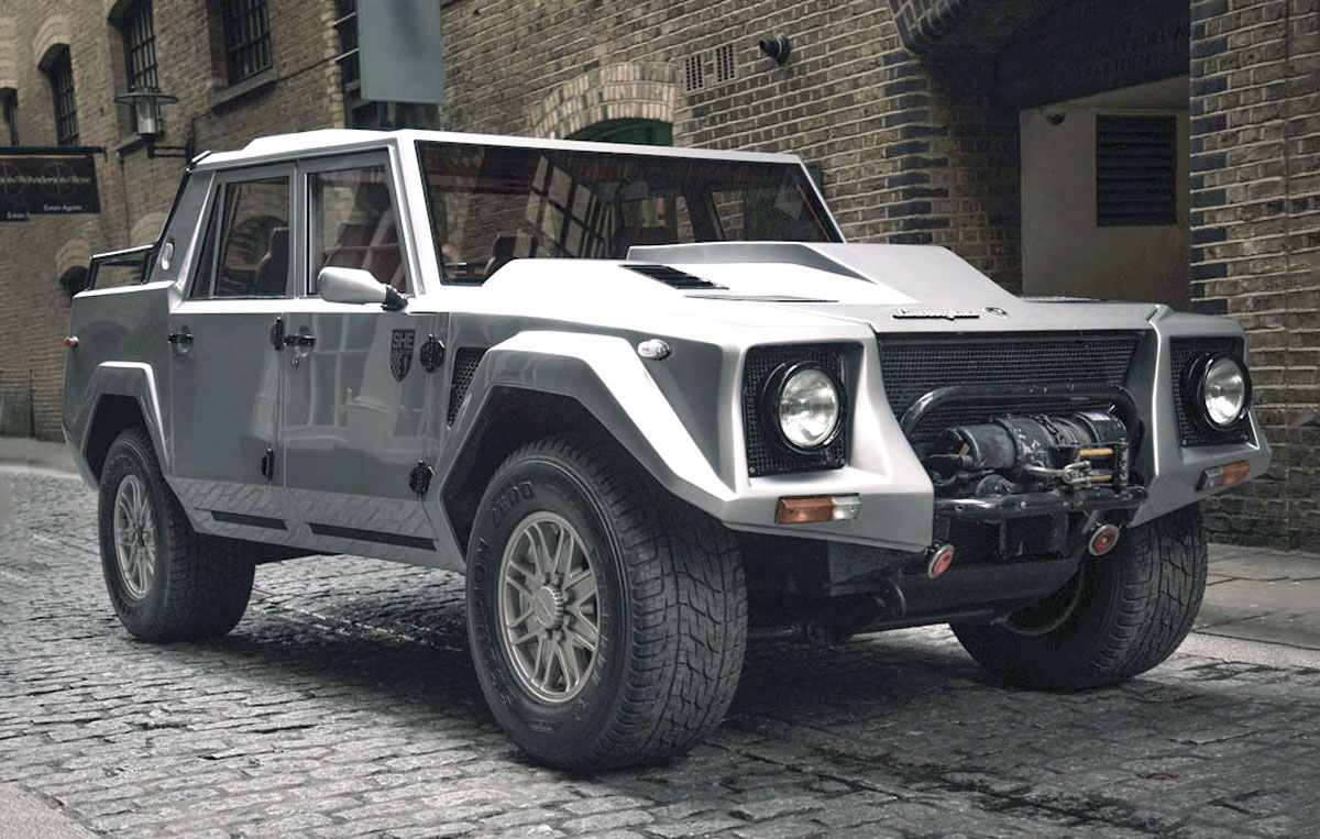 for sale: 1991 lamborghini lm002 fully restored, 1 of 328 built
