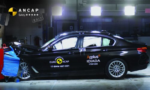 2017 BMW 5 Series awarded 5-star ANCAP safety
