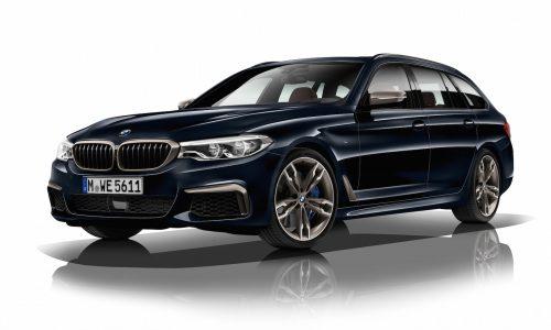 2017 BMW M550d revealed; quad-turbo, most powerful 6cyl diesel