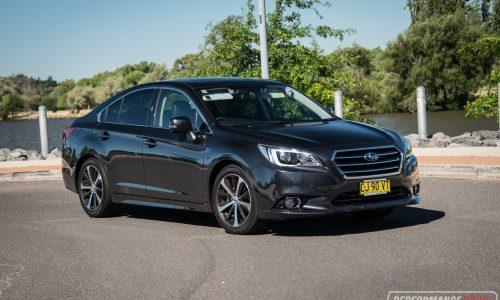 2017 Subaru Liberty 2.5i Premium review (video)