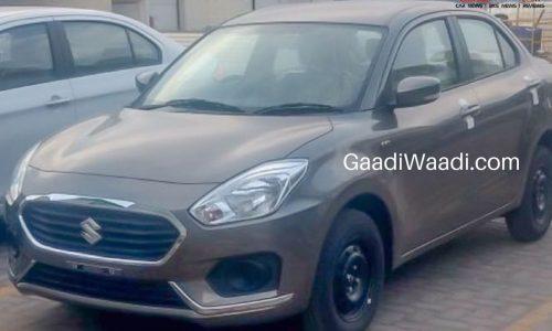 2017 Suzuki Maruti Swift Dzire spotted, compact sedan for India
