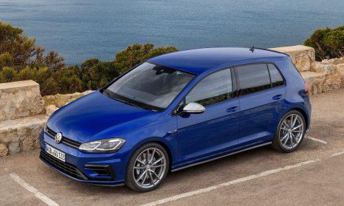 2017 Volkswagen Golf R Mk7.5 on sale in Australia in August