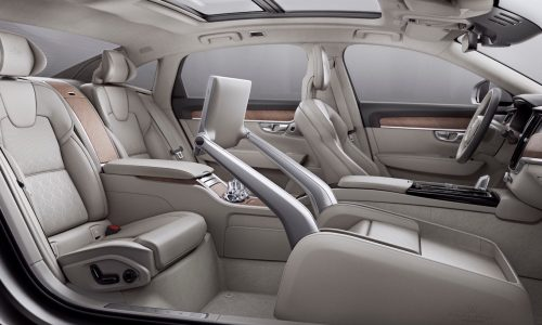 Video: 2017 Volvo S90 Excellence interior is perfect for intercity professionals