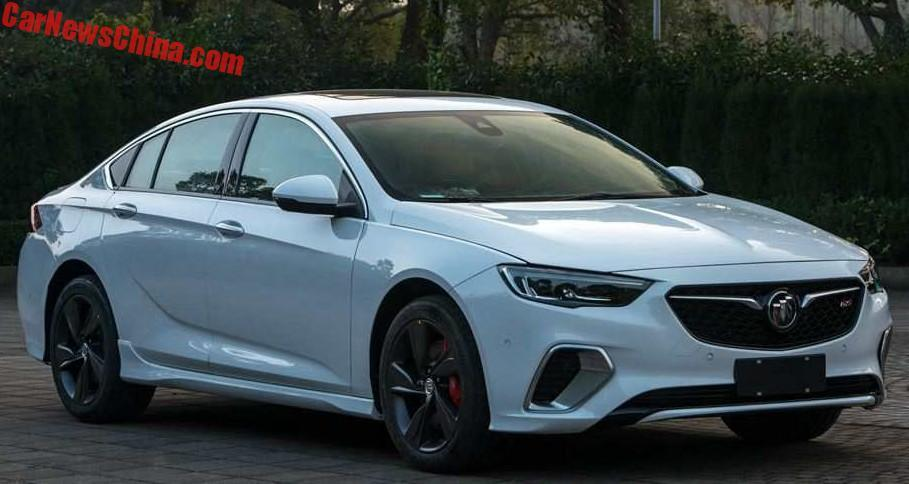 Buick Regal GS leaked; potential 2018 Commodore/HSV? | PerformanceDrive