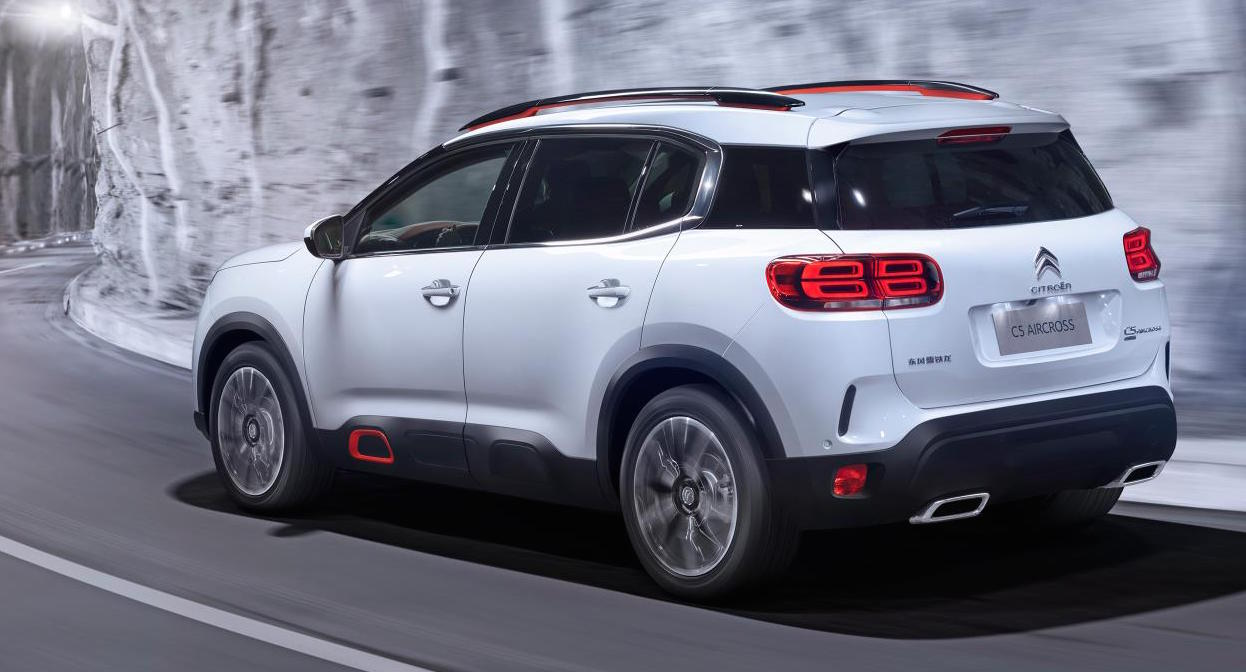 citroen c5 aircross revealed as most powerful citroen ever performancedrive. Black Bedroom Furniture Sets. Home Design Ideas
