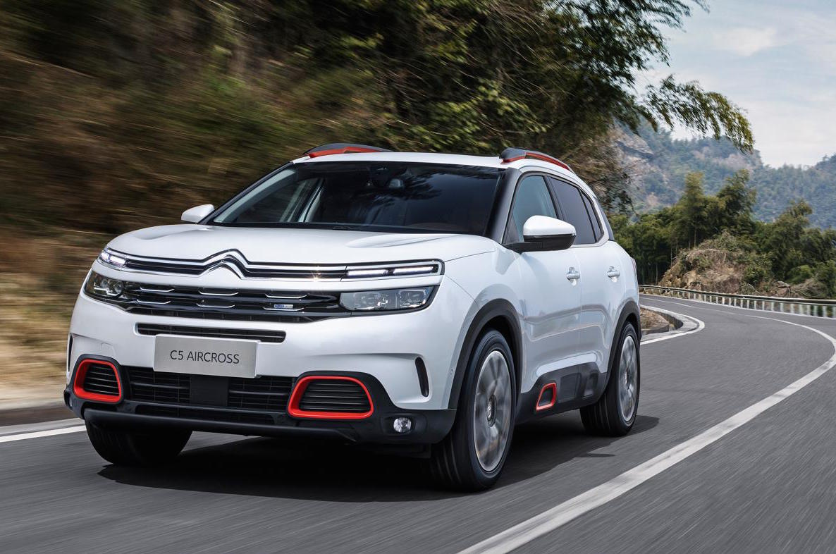 Citroen C5 Aircross Revealed As Most Powerful Citroen Ever