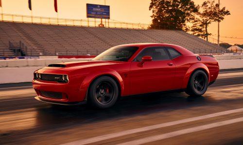 Dodge Challenger SRT Demon revealed in first image