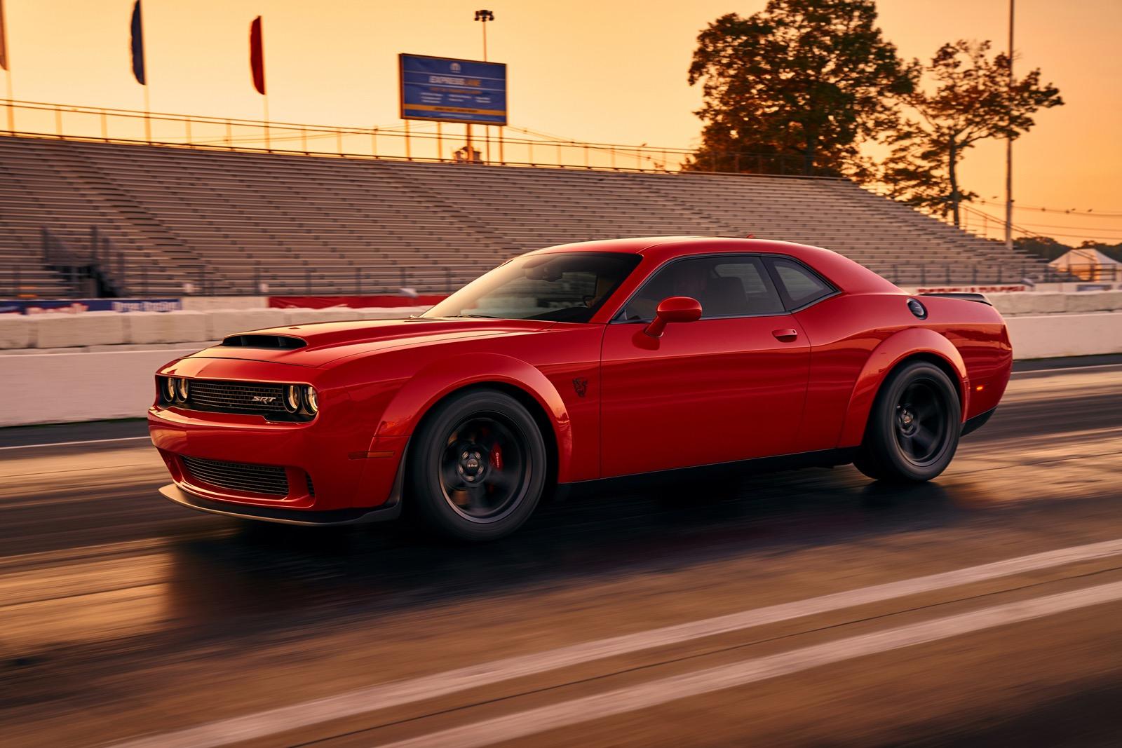 dodge hellcat demon speed Dodge Challenger SRT Demon revealed in first image