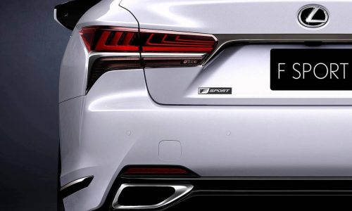 2018 Lexus LS 500 F Sport previewed, debuts at New York show