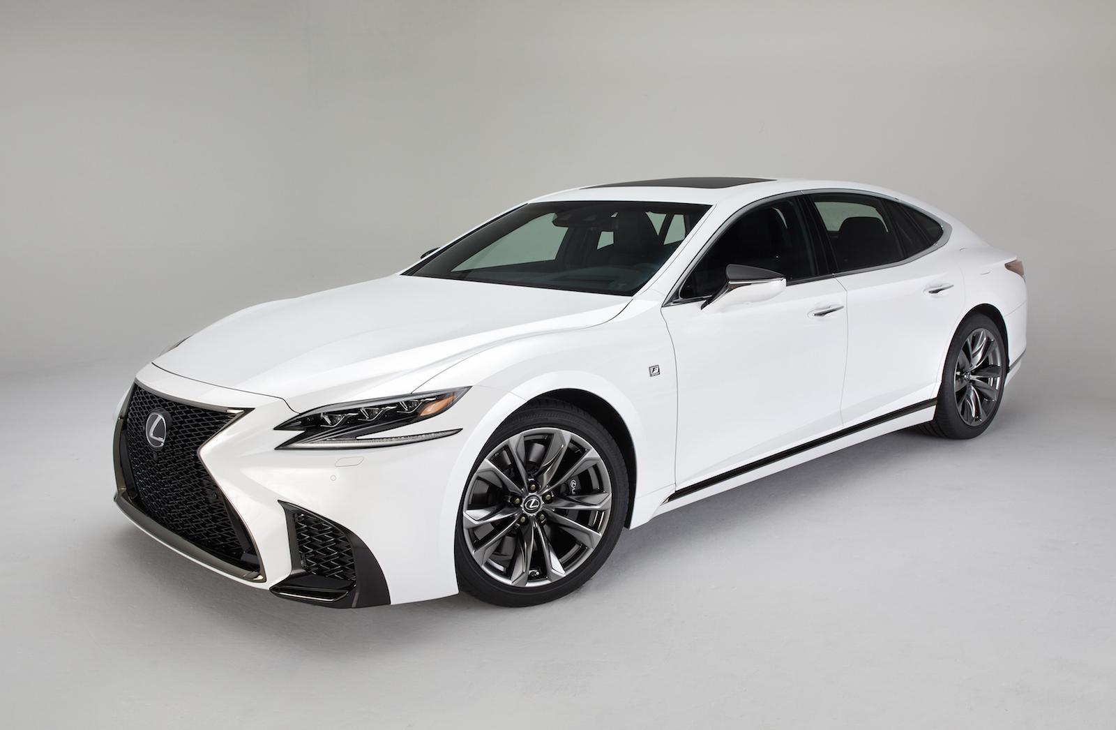 Kia Company Latest Models >> 2018 Lexus LS F Sport pack revealed, looks hot | PerformanceDrive
