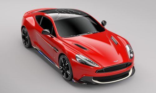 Aston Martin Vanquish S Red Arrows special edition announced