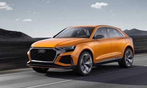 Audi Q8 production commences in 2018, Q4 in 2019