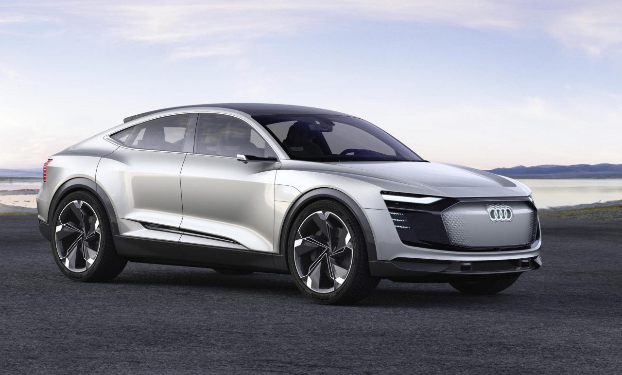 Audi e-tron Sportback concept debuts at Shanghai show ...