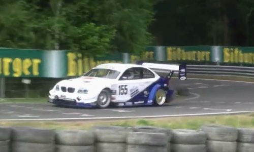 Video: Remembering the BMW 1 Series with 12,000rpm V8
