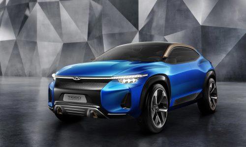 Chery Tiggo Sport Coupe Concept says ni hao at Shanghai show
