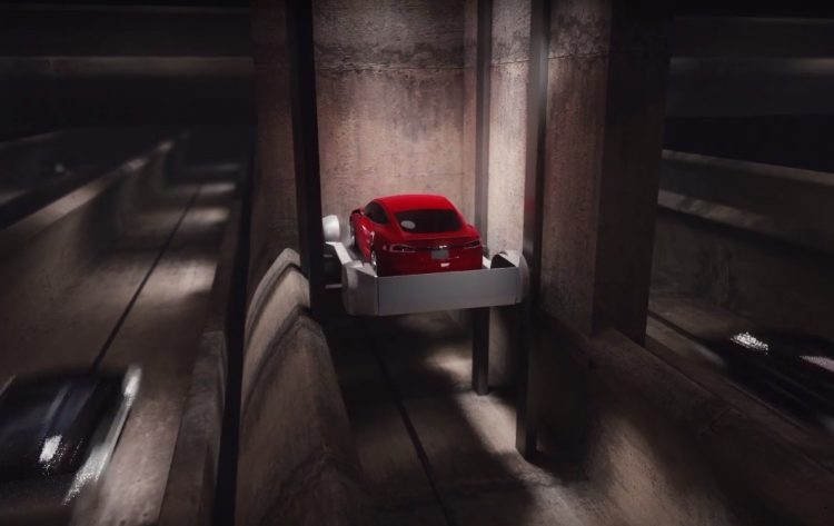 Elon Musk Envisions The Boring Company Tunnel System
