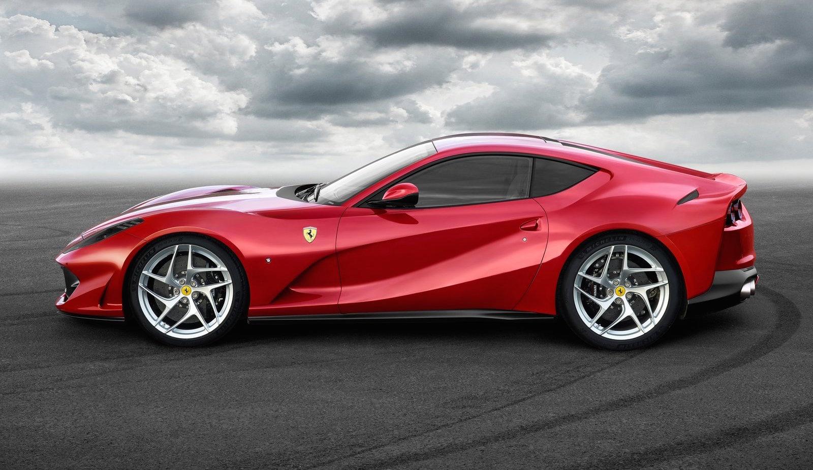 Elegant Ferrari 812 Superfast