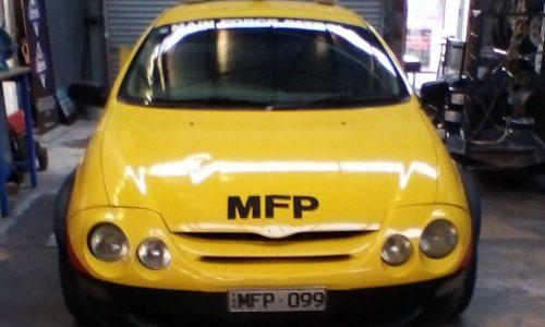For Sale: Unique Mad Max themed Ford AU Falcon
