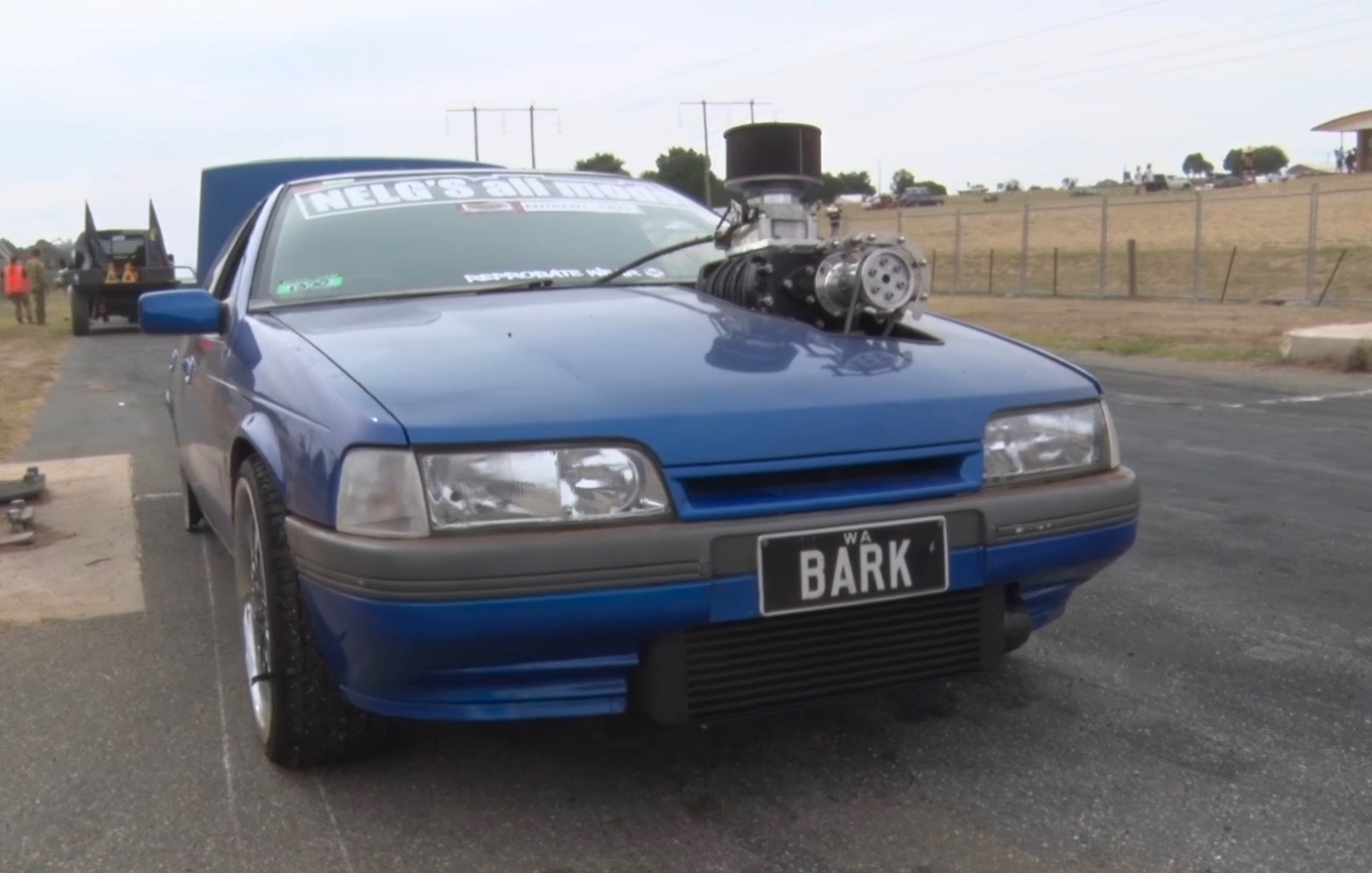 Ford Ea Falcon Inline 6 With Massive 4 71 Supercharger