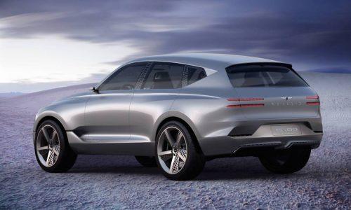 Genesis GV80 concept previews future SUV