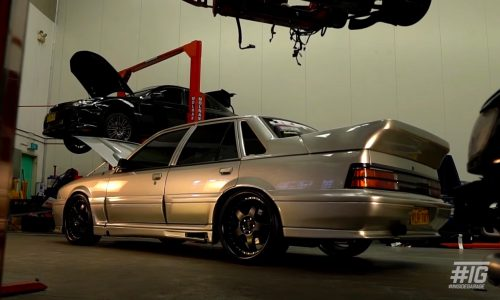 Holden VL Commodore gets Nissan RB26 GT-R conversion, with AWD (video)