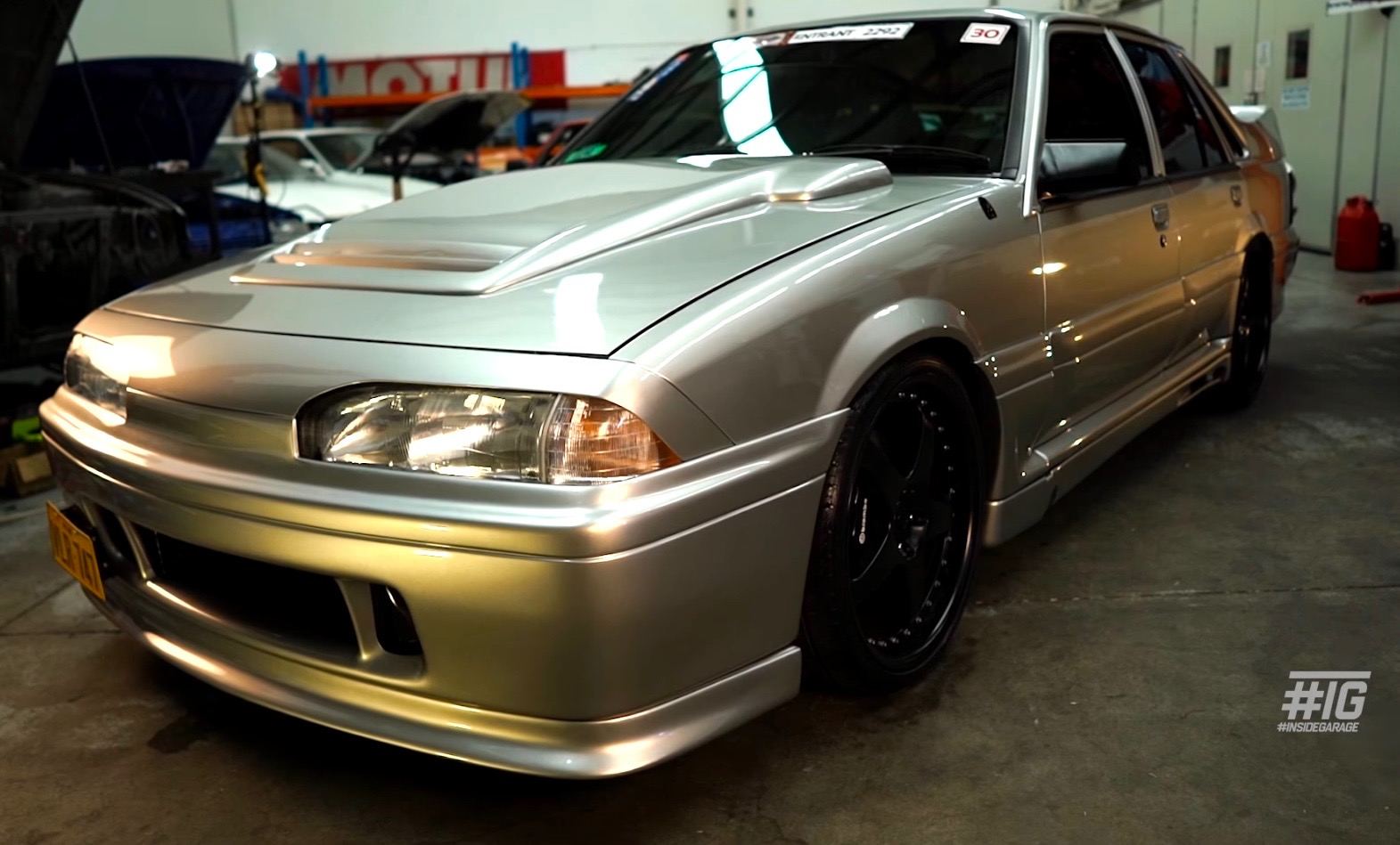 Holden VL Commodore gets Nissan RB26 GT-R conversion, with AWD