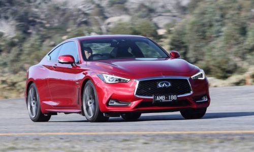 Twin-turbo Infiniti Q60 Red Sport now on sale in Australia