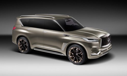 Infiniti QX80 Monograph concept officially revealed