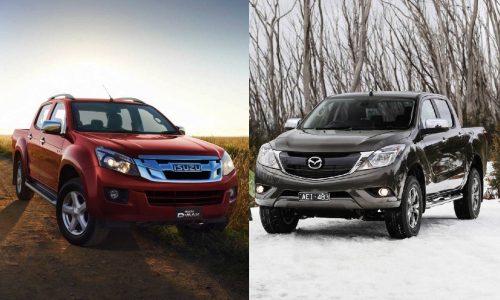 Next Isuzu D-Max & Mazda BT-50 share powertrains, different bodies