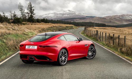 Jaguar F-Type 4-cylinder model revealed, 221kW turbo
