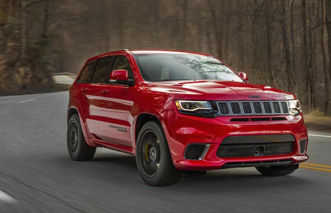 Jeep Grand Cherokee Trackhawk officially revealed