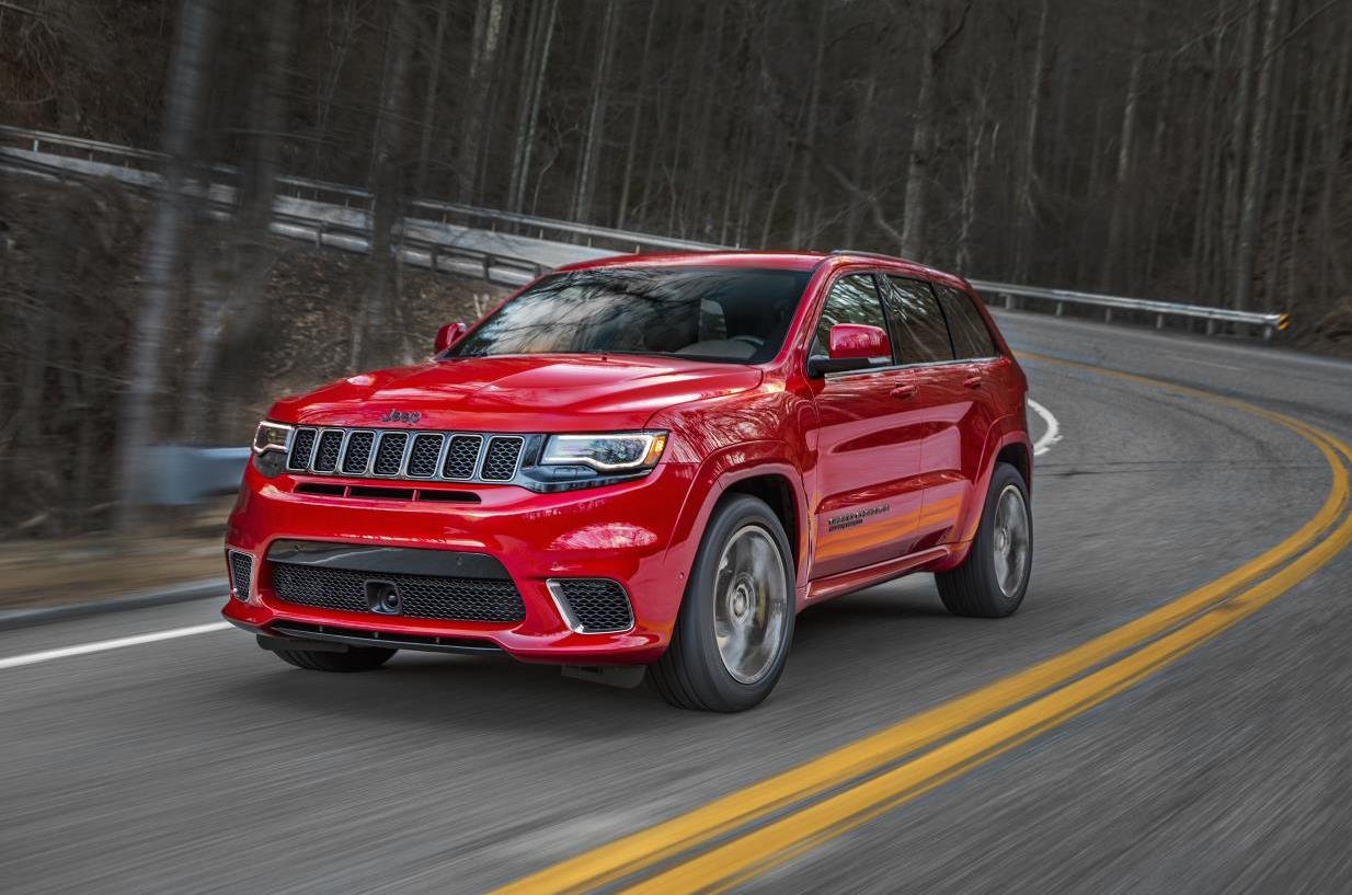 Jeep Grand Cherokee Trackhawk officially revealed ...