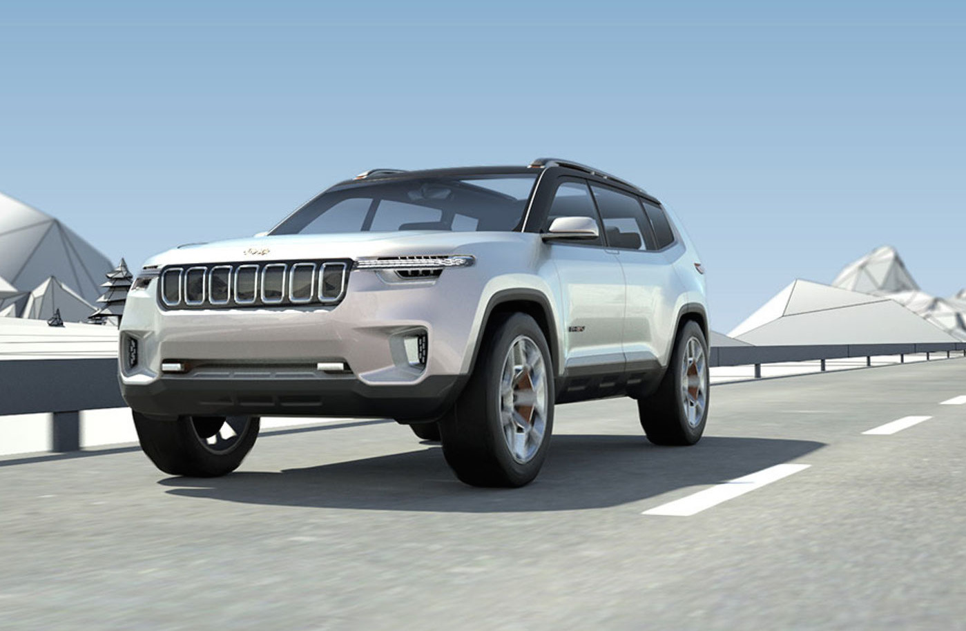 3 Row Jeep >> Jeep Yuntu Concept Potentially Previews New 3 Row Seat Suv
