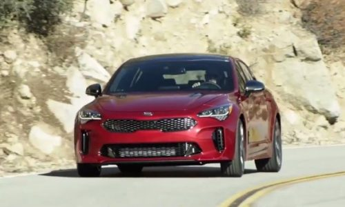 """More Kia Stinger details emerge, """"to drive as good as it looks"""" (video)"""