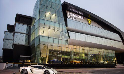 Lamborghini opens epic showroom in Dubai, biggest in the world