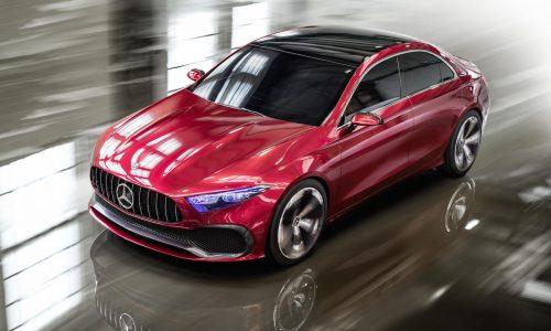 Mercedes-Benz Concept A Sedan unveiled