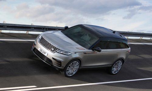Range Rover Velar V8 'SVR' confirmed via prototype