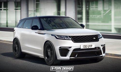 Range Rover Velar SVR & convertible envisioned, showroom potential?