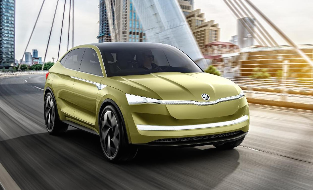 Skoda Vision E Concept Prepares For Shanghai Debut